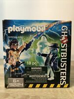 Playmobil Ghostbusters Spengler and Ghost Building Set 9224 NEW IN BOX