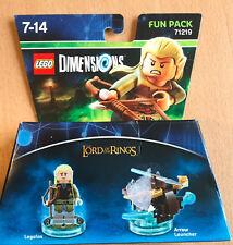 LEGO DIMENSIONS FUN PACK SET 71219 LE SEIGNEURS DES ANNEAUX LEGOLAS ET ARC