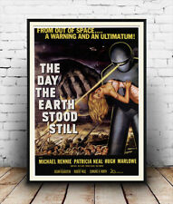 Day the earth stood still, Vintage advertising, Poster reproduction.
