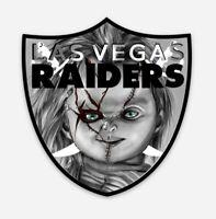 Las Vegas Raiders MAGNET - Jon Gruden Chuckie Raiders Nation former Oakland NFL