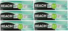 6 x REACH 120g TOOTHPASTE 8 IN 1 BENEFITS FRESH MINT Brand New