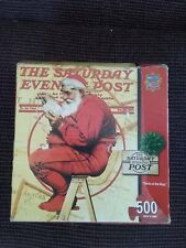 Master Pieces Santa At The Map 500 Piece Puzzle