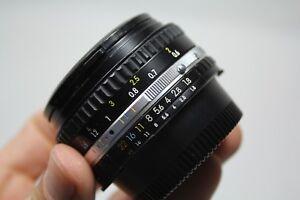 Nikon Nikkor 50mm F1.8 manual lens E. Barton Photography EBS37