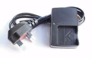 Mains Wall Battery Charger BC-CSN For Sony CyberShot DSC-T110D DSC-W570D