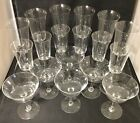 Set of 18 Baccarat Fine French Crystal Stemware‐1671‐60