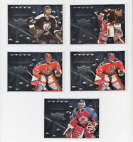 1996-97 Metal Universe Armor Plate Goalie Inserts - Pick From List - RARE