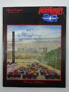 1985 Indianapolis 500 Program & 2 Tickets Danny Sullivan Team Penske Miller