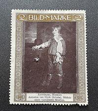 Cinderella Poster Stamp Antwerpen Museum Antonius van Dyck (Schule) (7600)