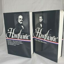 Nathaniel Hawthorne Tales & Sketches + Novels 2 Volumes LIBRARY OF AMERICA