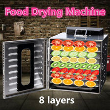 Food Dehydrator Commercial Stainless Steel Fruit Drying Machine Dryer Maker