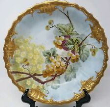 B & H Limoges Serving Bowl artist signed J. Golse imported by Carl Mayer, Austin