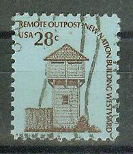 Sellos de correos estados unidos 1978 Fort Nisqually mi.nr.1357