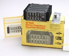 REALISTIC 40-WATT STEREO FREQUENCY EQUALIZER / BOOSTER 12-1863 for CAR