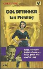 IAN FLEMING - GOLDFINGER - RARE UK 1ST PB 1961 N-FINE