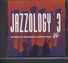 JAZZOLOGY 3 JAZZ promo cd