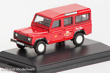 DEF002 Land Rover Defender, Royal Mail, Oxford 1:76, NEU &