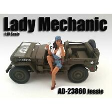 "1:24 Scale American Diorama (7.5 cm) Figure - ""Lady Mechanic Jessie"" # AD-23960"