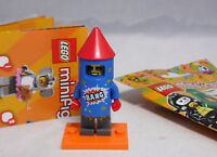 Lego 71021 Minifiguren Serie 18 Party Pyrotechniker Rakete Firework Guy #5 NEU
