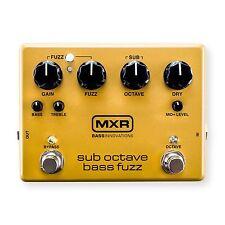 MXR M287 Sub Octave Bass Fuzz Bass Guitar Effects Pedal!