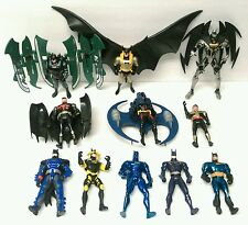 Mixed lot of ELEVEN (11) vintage loose Kenner BATMAN action figure toys