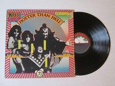 KISS Hotter Than Hell LP USA PRESS RARE CASABLANCA 1974 NO CD MC