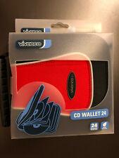 VIVANCO CD DVD Aufbewahrungstasche Transporttasche 24 CD/DVD Wasserabweisend OVP