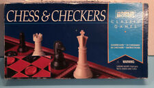 Used☆  Vintage ☆ Chess & Checkers Classic Games Parker Bros