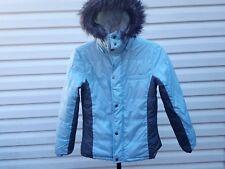 O'Neill Women's/Juniors M Insulated Puffy Jacket with Fur Hood Medium