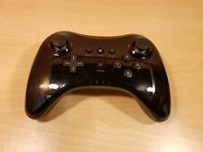 Wii U Clásico Pro Controlador Negro gamepads