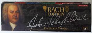 BACH EDITION - COMPLETE WORKS Das Gesamtwerk JOHANN SEBASTIAN BACH 160 CDs