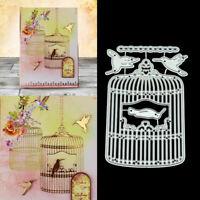 Birdcage DIY Metal Cutting Dies Stencil Scrapbooking Photo Album Stamp Crafts