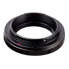 T2 T mount Lens to Canon EOS EF adapter 50D 7D 60D 550D 600D 700D 70D 5D2 5D3 6D