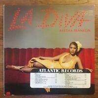 ARETHA FRANKLIN La Diva PROMO LP 1979 original NFS Atlantic soul funk OOP vinyl