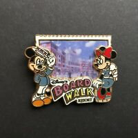 WDW - Boardwalk Resort - Logo - Mickey and Minnie Mouse Disney Pin 67613