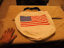 Cotton Tote Bag - With US Flag On it