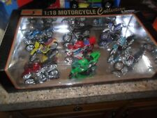 Maisto 1/18 Scale Motorcycle Collection 1995 Set of 9 Motorcycles HONDA BMW +