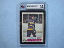 1977/78 O-PEE-CHEE NHL HOCKEY CARD #67 BUTCH GORING KSA 8.5 NM/MINT+ SHARP+ OPC