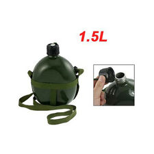 BT Aluminum Military Water Bottle with shoulder Strap Military Army Canteen