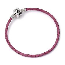 New Official Harry Potter Pink Leather Bracelet for Charms