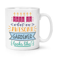 This Is What An Awesome Gardener Looks Like 10oz Mug Cup - Funny Favourite Best