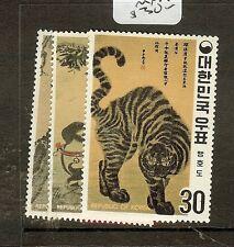 KOREA (P0502B) ANIMALS SC718-20  MNH