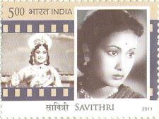 PHILA2692 INDIA 2011 LEGENDARY HEROINES OF INDIA : SAVITRI MNH
