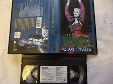 MADONNA  Live from Italy  Ciao Italia   Musik-Video FSK ab 0 Jahre VHS gebr