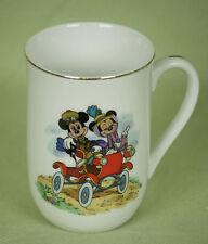 Disney Collection Classic Mug Coffee Cup Mickey Minnie Old Car Nifty Nineties 8