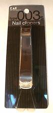 Kai Nail Clipper Stainless Type003S KE0127 Finger Toe Nail Japan Free shipping
