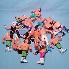 WWF Vintage Hasbro Wrestlers Bag Lo# 2- of 17 Ultimate Warrior WWE Mix