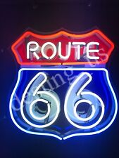 """New Route 66 Neon Sign 24""""x20"""" with HD Vivid Printing Technology"""