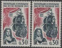 """FRANCE TIMBRE 1461 """" PEUPLEMENT ILE BOURBON VARIETE COULEUR """" NEUF xx LUXE K128"""