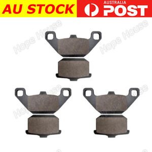 FRONT REAR Brake Pads for Kawasaki GPZ 1000 RX A1-A3 1986 - 1988