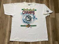 RARE Vintage Florida Marlins 1997 Starter World Series MLB Champs Shirt Mens XL